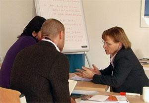 Intensives Beratungsgespräch zu Forschungsmethoden, mit Prof. Dr. Gerty Lensvelt-Mulders